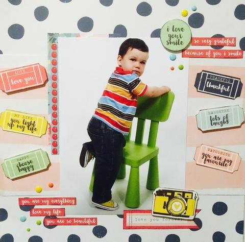 Kaisercraft Finders Keepers Layout – Shop and Crop Scrapbooking