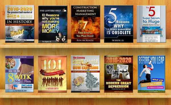 brother: design KILLER ebook cover professionally in any style, like Flat and 3D for $5, on fiverr.com