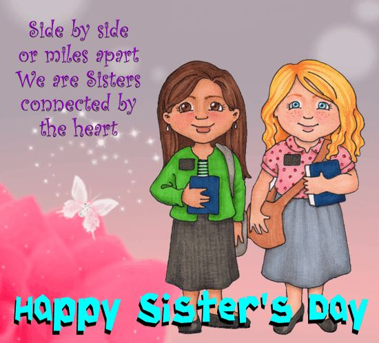 16 Best HAPPY SISTERS DAY Images On Pinterest