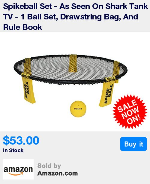 As Seen On Shark Tank! Spikeball is played 2 on 2 with rules kind of like volleyball. * Great Active Outdoor, Indoor, Backyard, Beach, Camping Game That Kids and Adults Can Enjoy * Great Workout For Athletes To Cross Train Who Play Lacrosse, Tennis, Ultimate Frisbee, and Who Do CrossFit * Want To Take It To The Next Level? Join 250,000 Players In The US and 1,000 Nationally Ranked Teams! * Intense and Fast: A taut Hula Hoop-sized net is placed at ankle level between a pair of two-player…