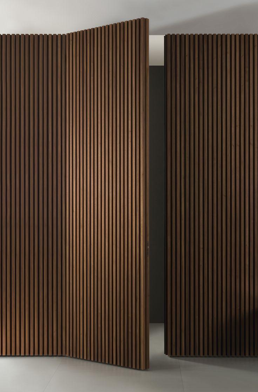 Portas que não se parecem com portas. Como não amar isso.   – Livingroom