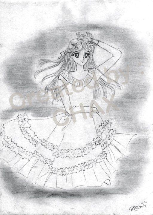 Girl & Skirt