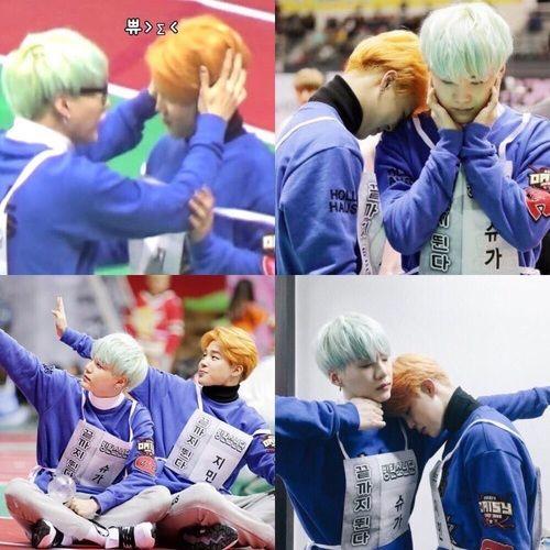 Essas fotos!!!!! Yoonmin é vida♥♥