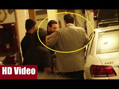 Saif Ali Khan drops DRUNK Randhir Kapoor to his car at Kareena Kapoor's Birthday Party 2016.  #saifalikhan #randhirkapoor #kareenakapoor #kareenakapoorbirthday #kareenakapoorbirthdayparty #bollywood #bollywoodnews #bollywoodgossips #bollywoodnewsvilla