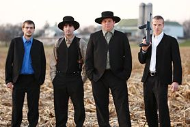 "I don't watch much TV these days, but I have to say ""Amish Mafia"" on the Discovery Channel is too surreal to pass up!"