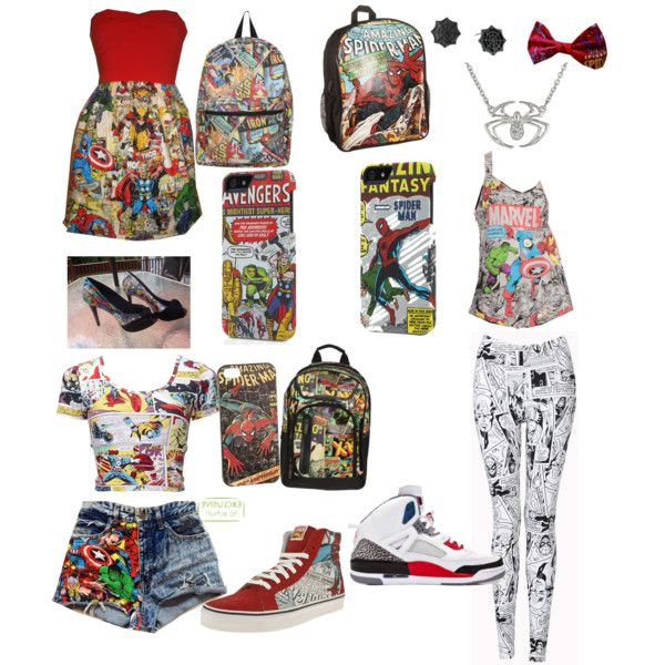 marvel clothing geez i want some of these