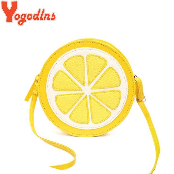 2017 chegada nova rodada lemon padrão zipper crossbody mulheres messenger bags satchel bolsa de ombro dupla finalidade mini sacos das senhoras em Bolsas de Ombro de Bagagem & Bags no AliExpress.com | Alibaba Group