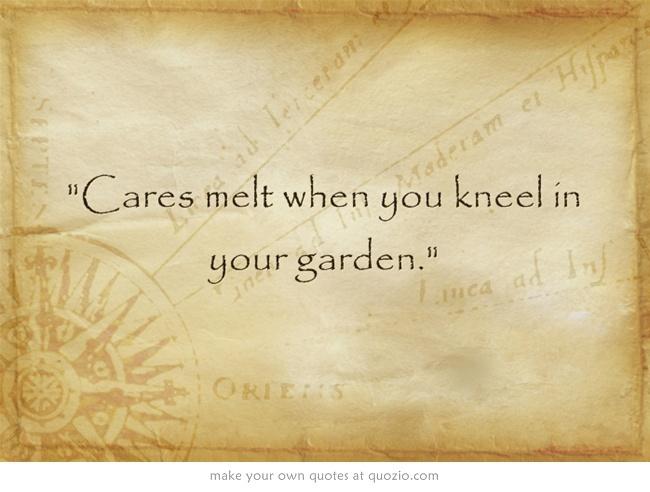 Cares melt when ....