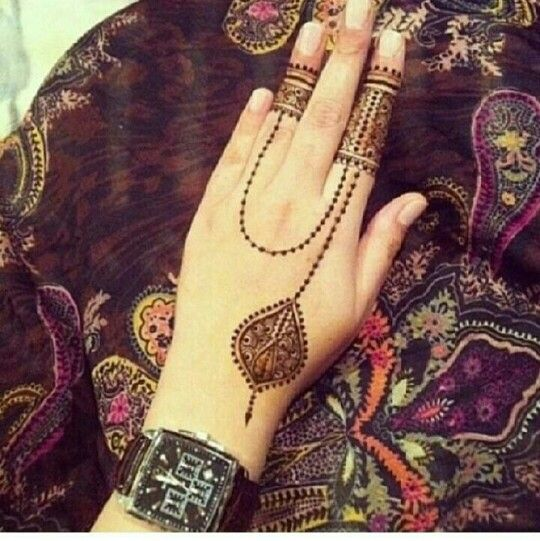 This is really cool and minimalist! I think instead of the watch I would ad a henna wrist band to the design.