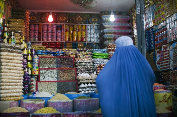 Photo essay: Filmmaking on the streets of Kabul - snack food store