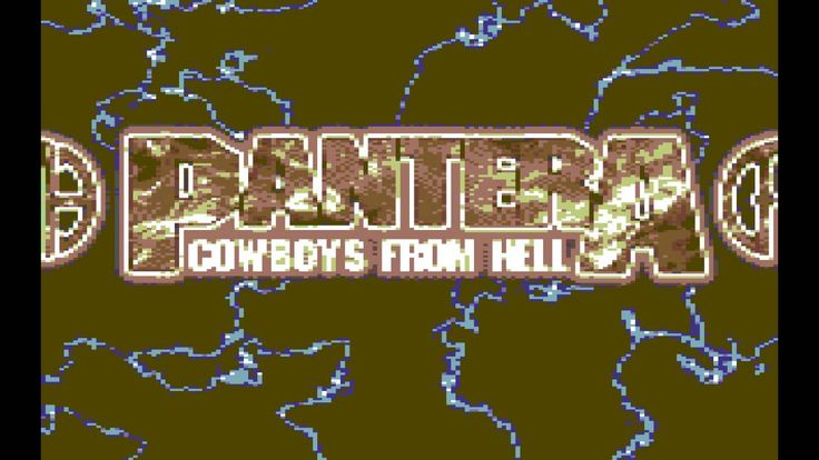 Cowboys From Hell [8 Bit Cover Tribute To Pantera] - TM