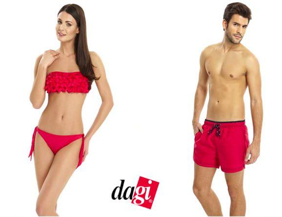 Sezonun popüler renklerinden biri de fuşya. Hem kadın, hem erkek için... http://www.dagistore.com/urun/dagi-straplez-bikini_960.aspx