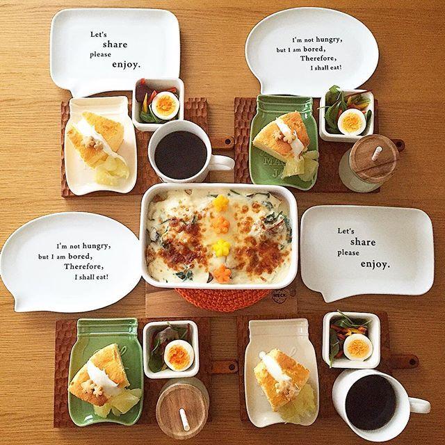 Feb.5  today' breakfast + 檸檬酵母のカンパーニュで 牡蠣とホウレン草とエリンギのパングラタン サラダ 赤レモンシフォンケーキ+水切りヨーグルト +ザボンの蜂蜜漬け添え で  あさごはん + 息子の大好物カンパーニュと牡蠣の融合! 食べっぷりがすごいです(。-艸-。) 娘は赤レモンで作ったシフォンケーキに 水切りヨーグルトクリームがチーズケーキみたいで ご満悦でした(○´U`○)♡ でもザボン(文旦)🍊の蜂蜜漬けは 子供達には不評…美味しいのになぁ 大きなザボンもう1個はコンフィチュールにしよう 一応、ザボンの皮で酵母起こしも。 うまくいくかな。…