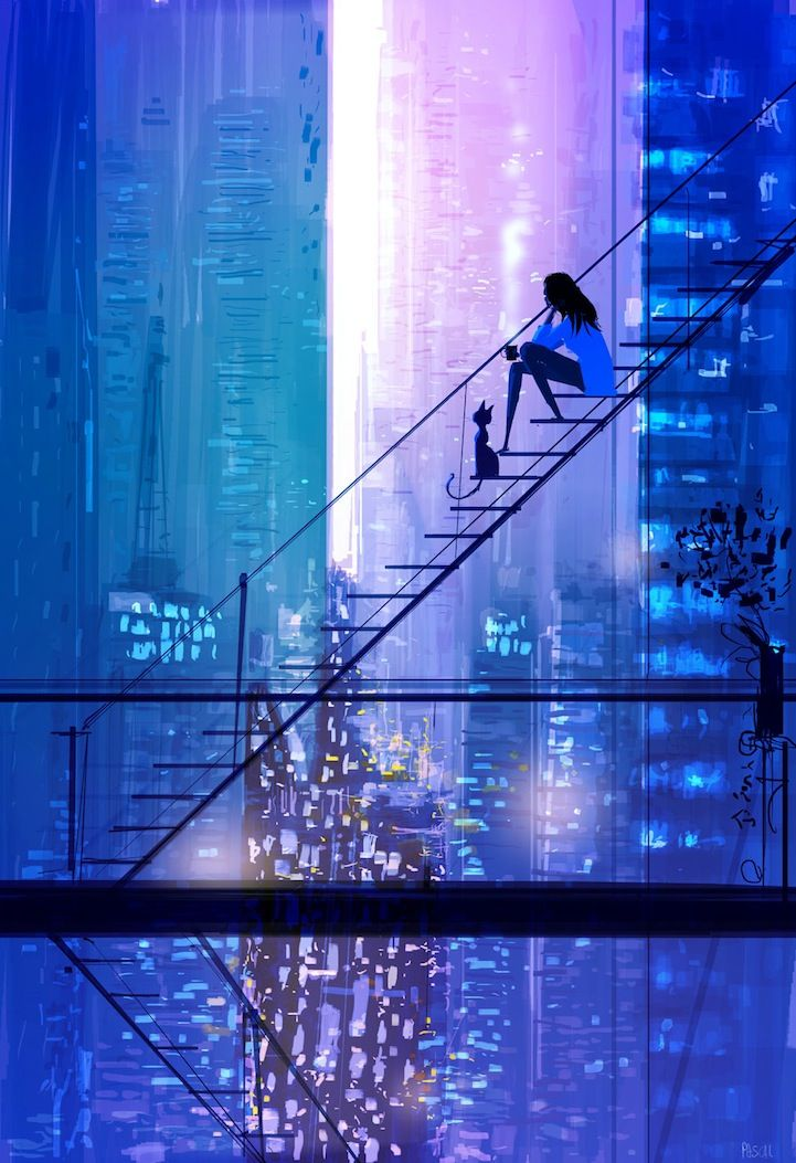 Pascal Campion is a French-American illustrator who has worked in a wide variety of media and created cute illustrations in clean and minimalist styles.