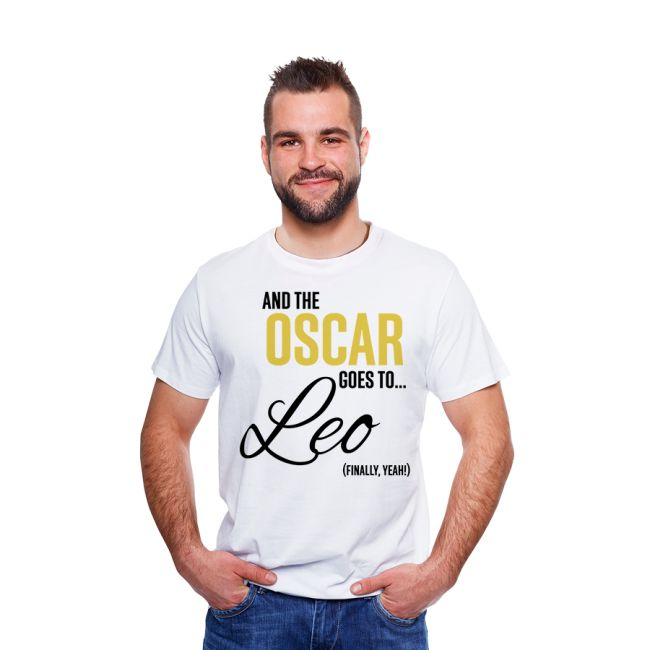 Koszulka oskarowa! #oscar #goesto #leo #finally #tshirt #yeah