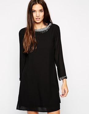 Sisley Sixties Dress with Embellishment