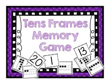 FREE Numbers 1-30 These tens frames cards are great for math workshop! I have also used these to pair students!!Simply print on card stock, laminate, cut and Enjoy : )