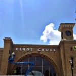 Wizarding World of Harry Potter Diagon Alley Construction May 12, 2014 - King's Cross
