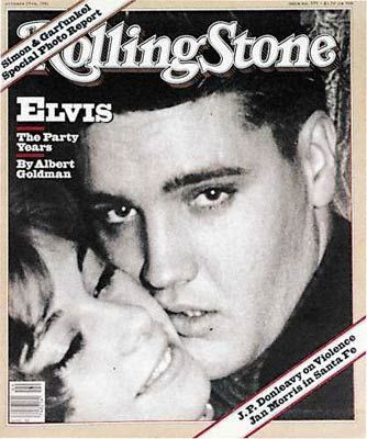 Elvis Presley - Rolling Stone Magazine [United States] (29 October 1981)