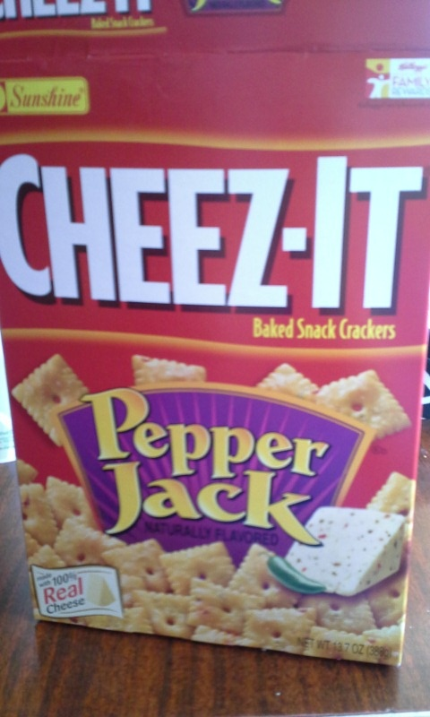 one of my favorite types of cheez-its