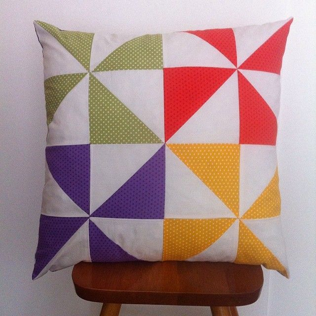 "(@my_patchwork_place) on Instagram: ""#pillow #handmade #hst #patchwork #wip #my_patchwork_place #greekcreators #instapicture 6 of 19"""