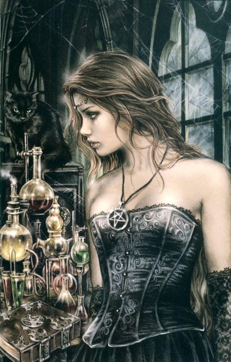 Victoria Frances (Dibujante de arte Gótico y de Vampiros)