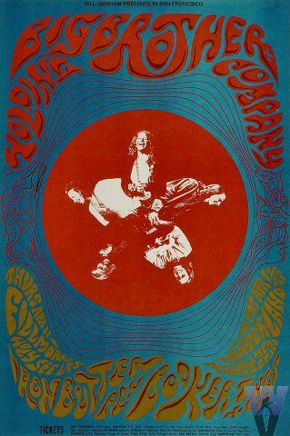 Big Brother and the Holding Company at Fillmore Auditorium 4/11/68 Winterland 4/12-13/68 by Patrick Lofthouse & Tom Weir