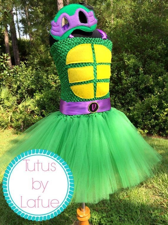 tmntteenage mutant ninja turtles tutu dress by tutusbylafue - Judy Moody Halloween Costume