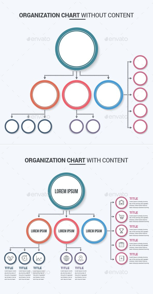 Organization Chart - Infographics Infographics Templates from 2