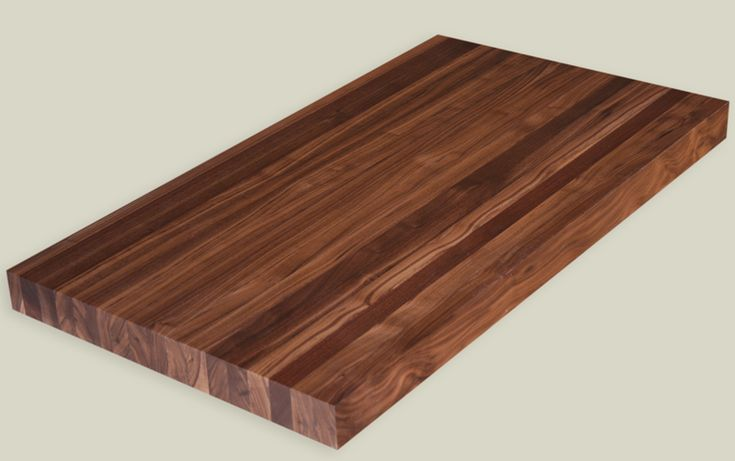 clear walnut butcher block countertop for the island in my kitchen