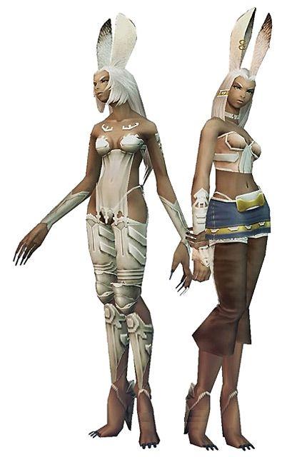Viera Render - Characters & Art - Final Fantasy XII