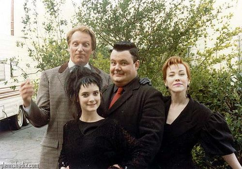 Lydia Deetz and company (Beetlejuice)