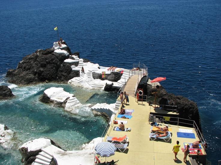 pools ; Madeira ; Portugal ;