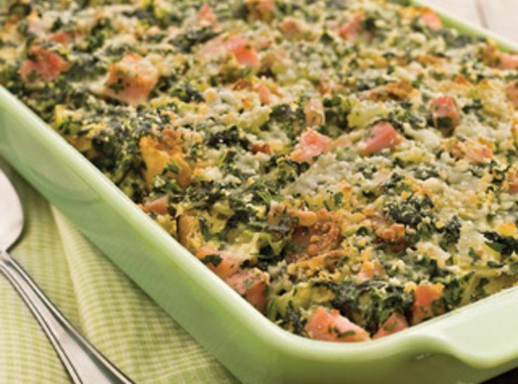 Ham Stratta: Brunch Recipe, Easter Recipes, Healthy Breakfast, Hams Brunch, Hams Strata, Brunch Strata, Easter Brunch, Cinnamon Buns Pancakes, Families Favorite