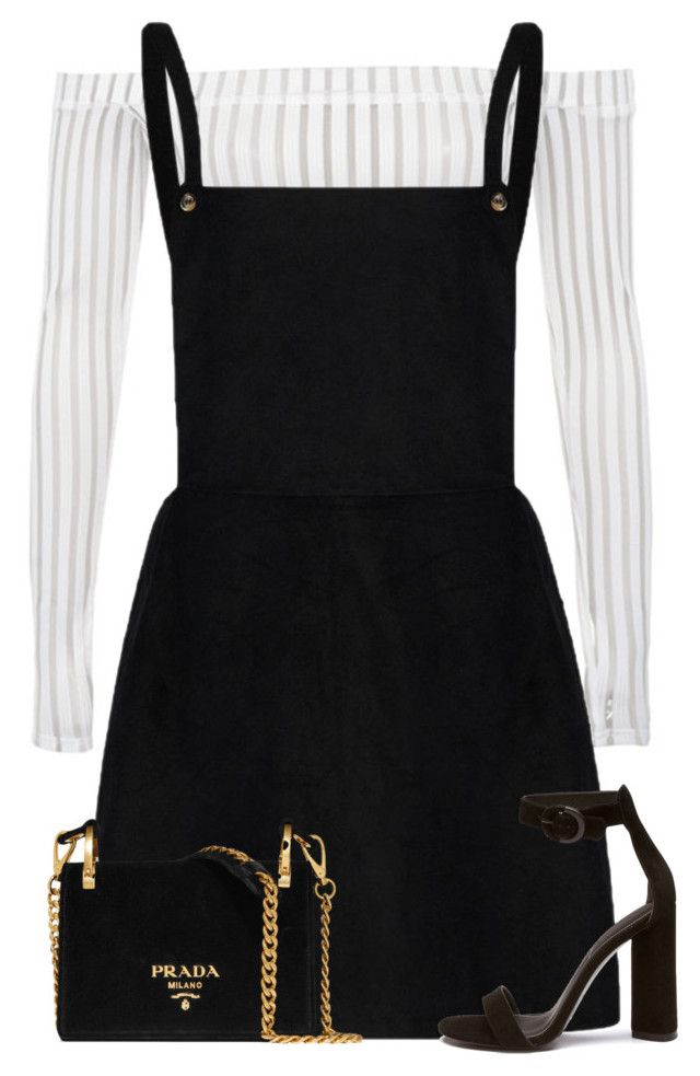 """""""Untitled #2219"""" by seventeene ❤ liked on Polyvore featuring Prada"""