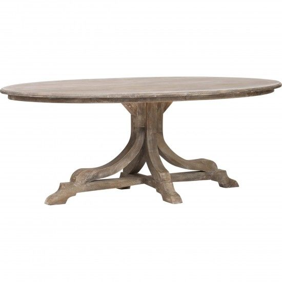 10 ideas about Oval Dining Tables on Pinterest Oval  : 6e96a9e598d040b6a0669c903b305740 from www.pinterest.com size 550 x 550 jpeg 17kB