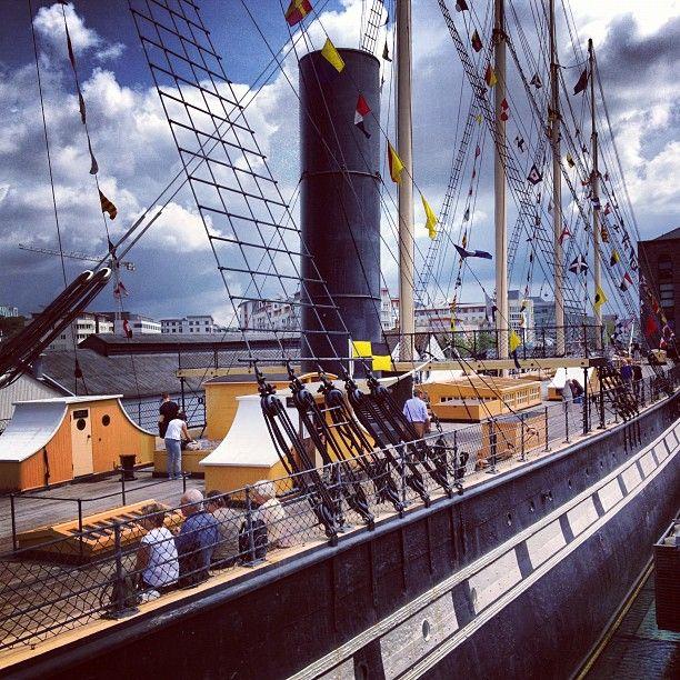 SS Gran Bretaña en Bristol, UK