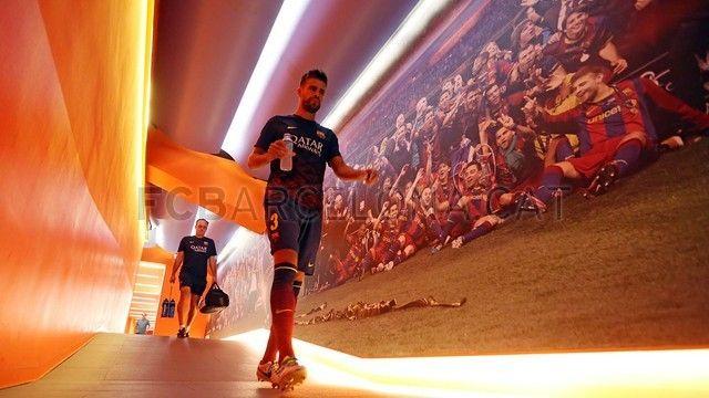 FC Barcelona | Gerard Piqué en el Barca - Levante. FOTO: MIGUEL RUIZ - FCB