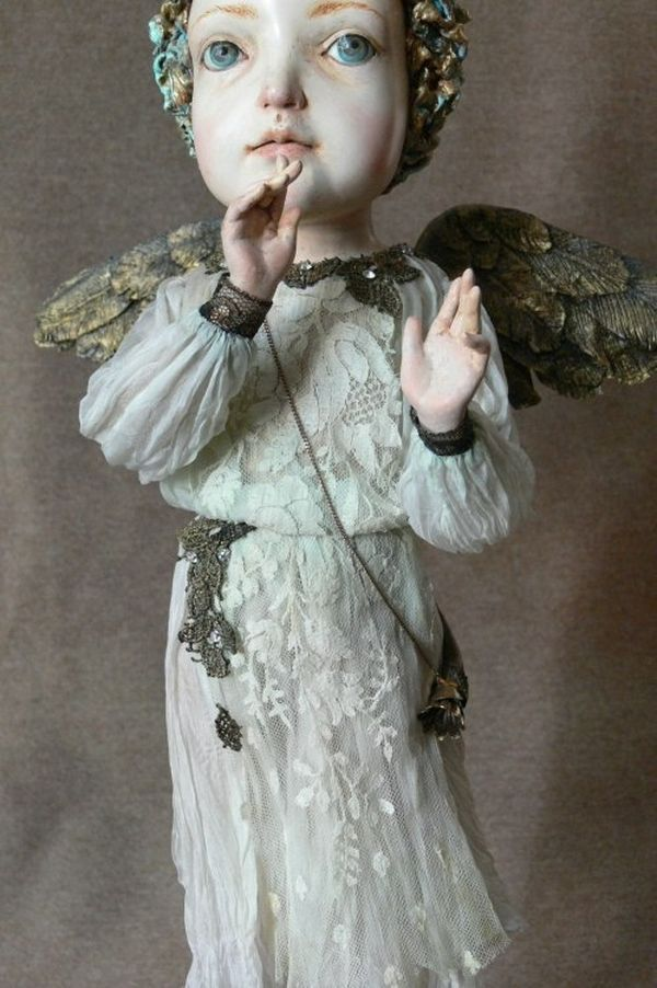 Изумительное творчество Гули Алексеевой: авторские куклы - Ярмарка Мастеров - ручная работа, handmade