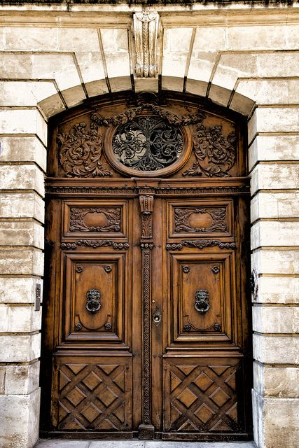 One of my favorite doors in Avignon, France