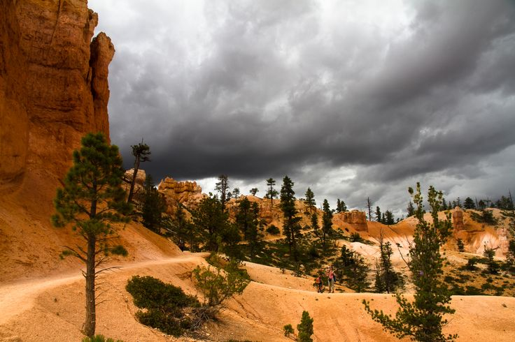 Bryce Canyon Storm #bryce #canyon #storm http://hikersbay.com/go/usa