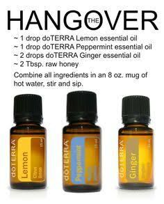 Image result for essential oil hangover bomb