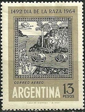 Argentina -Correo Aéreo 1964