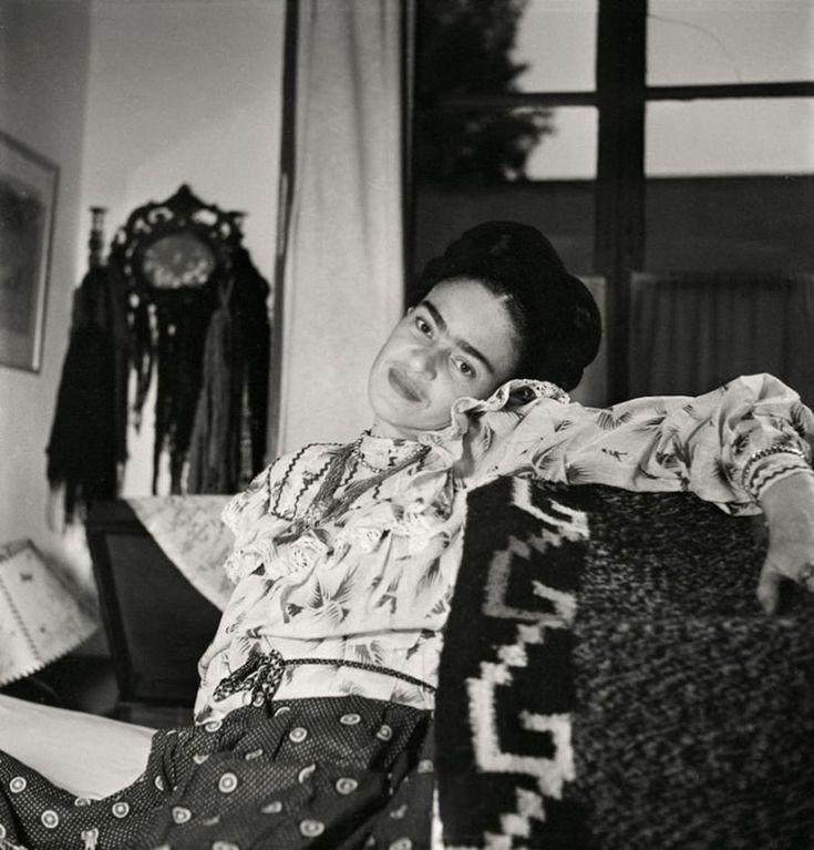 Fotografías inéditas de Frida Kahlo poco antes de su muerte 05