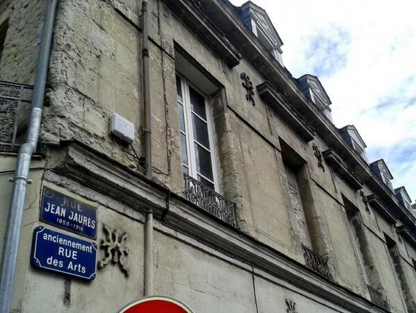 "Gildas Salaün : ""la rue Jean Jaurès à #Nantes #JeuPantheon"" http://pic.twitter.com/LfHWrMOjq7"