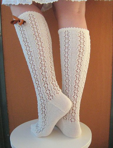Toe Up Sock Knitting Pattern : 17 Best images about Knit Socks on Pinterest Knitting daily, Midsummer nigh...