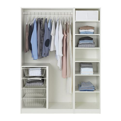 PAX Wardrobe IKEA --I want this. I want it for by the entryway to use as a linen closet/cleaning supply close!t