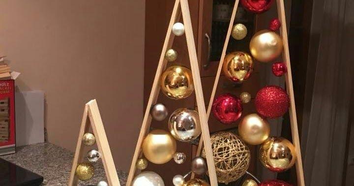 Decoraciones Navidenas Sencillas