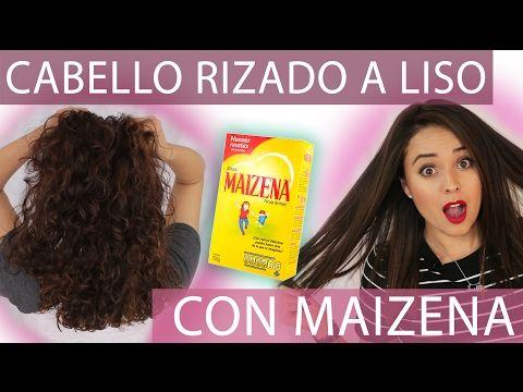Cabello Liso Natural Con Maizena Este Alisado Sin Calor Funciona Bessy Dressy - YouTube