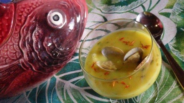 Creme de Arroz de Amêijoas com Açafrão - Foi um êxito! http://grafe-e-faca.com/pt/receitas/do-mar/creme-de-arroz-de-ameijoas-com-acafrao/